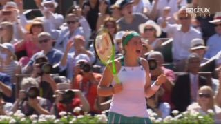Roland-Garros, finale: Ostapenko (LAT) – Halep (ROU) 4-6 6-4 [RTS]