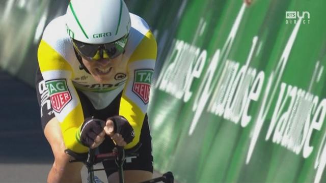 1re étape (prologue), Cham-Cham: Rohan Dennis (AUS) remporte le prologue, Stefan Küng 2e [RTS]