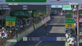 Cyclisme - Tour de Suisse: Küng termine 2e du prologue de Cham [RTS]