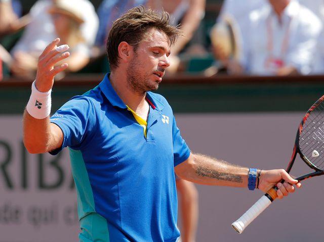 Stan Wawrinka n'a pas trouvé la clé face à Rafael Nadal. [Michel Euler - Keystone]