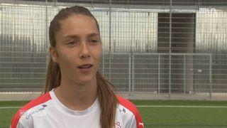 Le mag: une jeune footballeuse prometteuse a intégré académie de foot en Suisse [RTS]