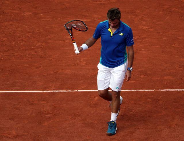 Wawrinka a tout tenté contre Nadal. En vain. [Tatyana Zenkovich - Keystone]