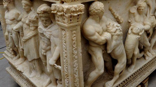 Après sept ans d'enquête, un sarcophage romain va être remis à la Turquie