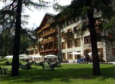 L'hôtel Kurhaus