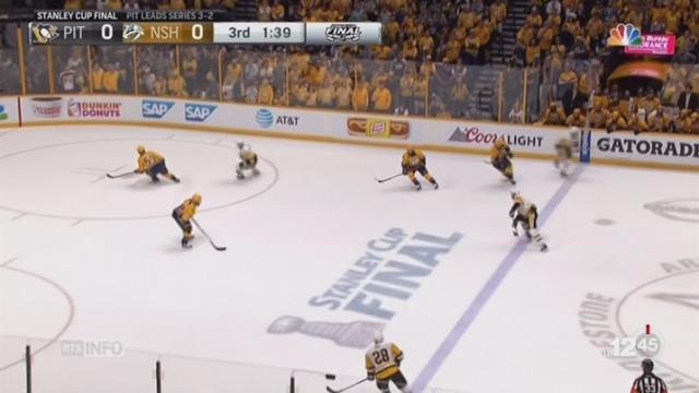 Hockey-NHL: Pittsburgh a remporté la prestigieuse Coupe Stanley [RTS]