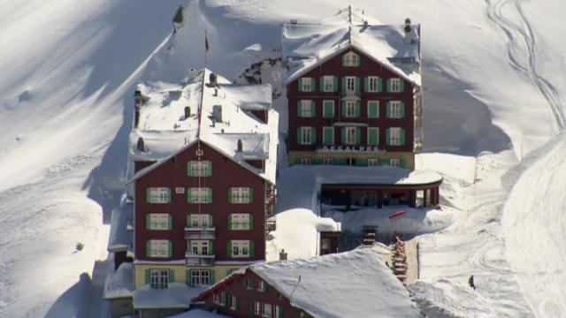 L'hôtel Bellevue des Alpes [RTS]