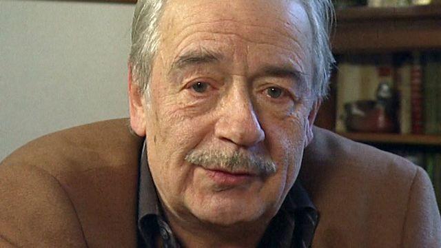 Philippe Mentha en 2001. [RTS]