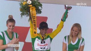 3e étape: Michael Matthews (AUS) endosse le maillot jaune [RTS]