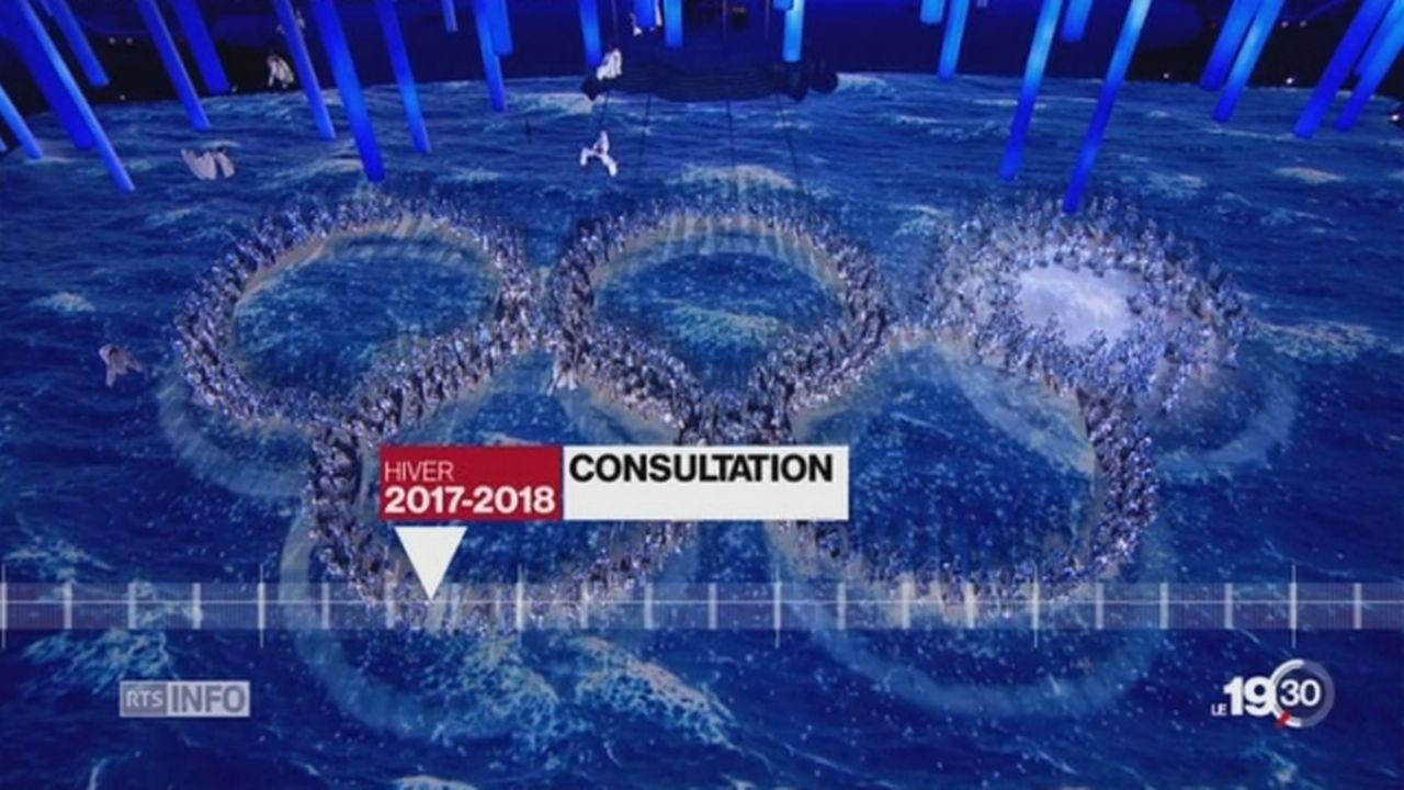 Sion 2026: le Conseil fédéral pourrait réviser son agenda [RTS]
