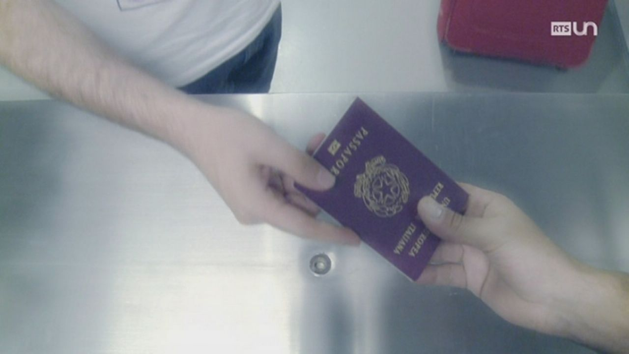 Le business des passeports [RTS]