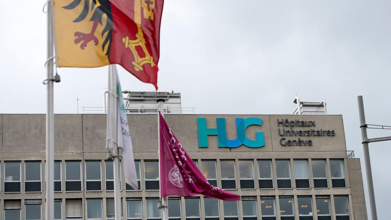 Les Hôpitaux universitaires de Genève (HUG). [Martial Trezzini - Keystone]