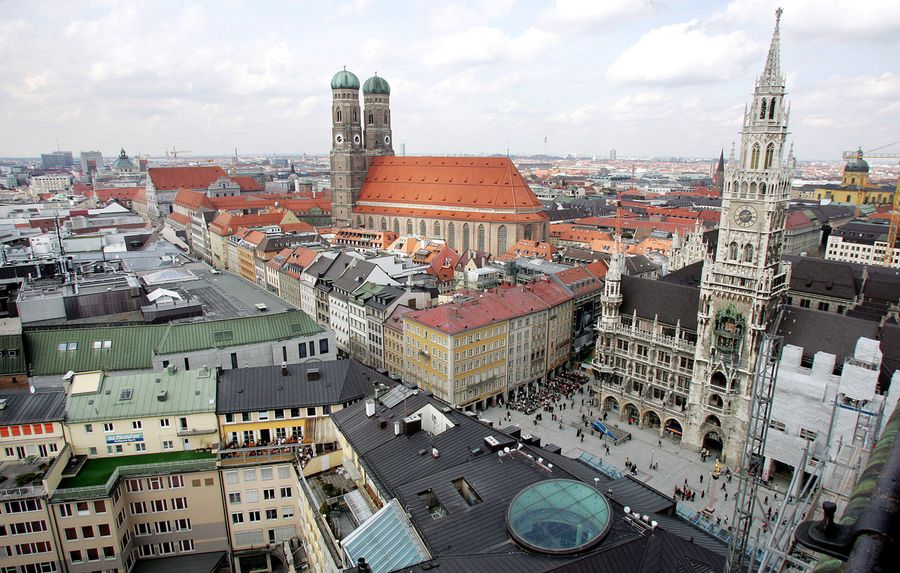 La ville de Munich. Image d'illustration.