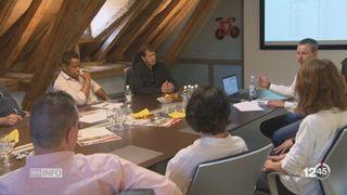 Cyclisme - Tour de Suisse: les cyclistes vont arriver à Villars-sur-Ollon [RTS]