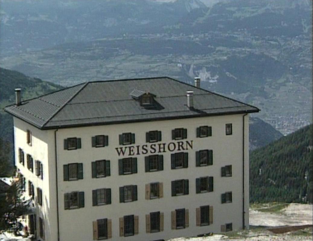 L'hôtel Weisshorn