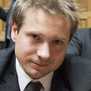 Philippe Nantermod (PLR-VS). [Peter Schneider - Keystone]