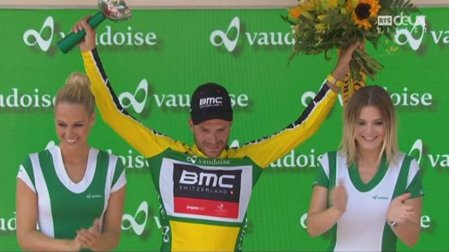 4e étapes: Damiano Caruso (ITA), nouveau mailliot jaune du tour [RTS]