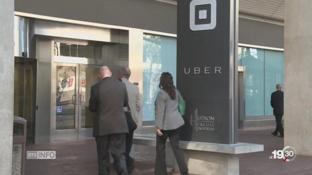 Le management de la direction d'Uber est controversé [RTS]