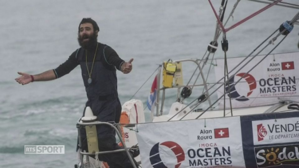 Alan Roura et le Vendée Globe [RTS]