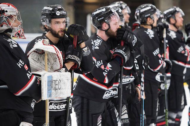 Le HC Red Ice Martigny n'a pas pu être sauvé. [Jean-Christophe Bott - Keystone]