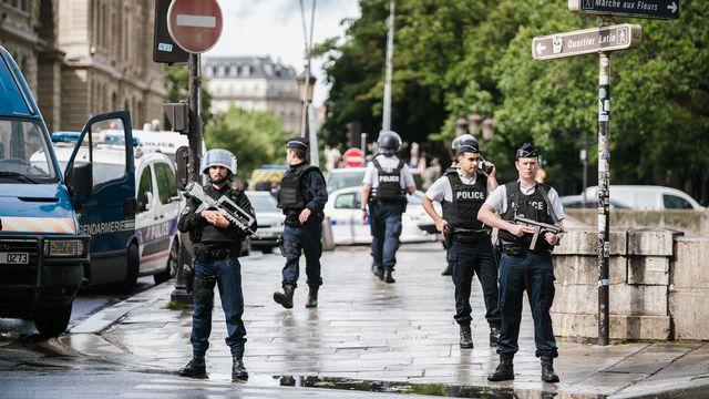 Terrorisme: peur sur la ville? [Simon Guillemin / Hans Lucas - AFP]