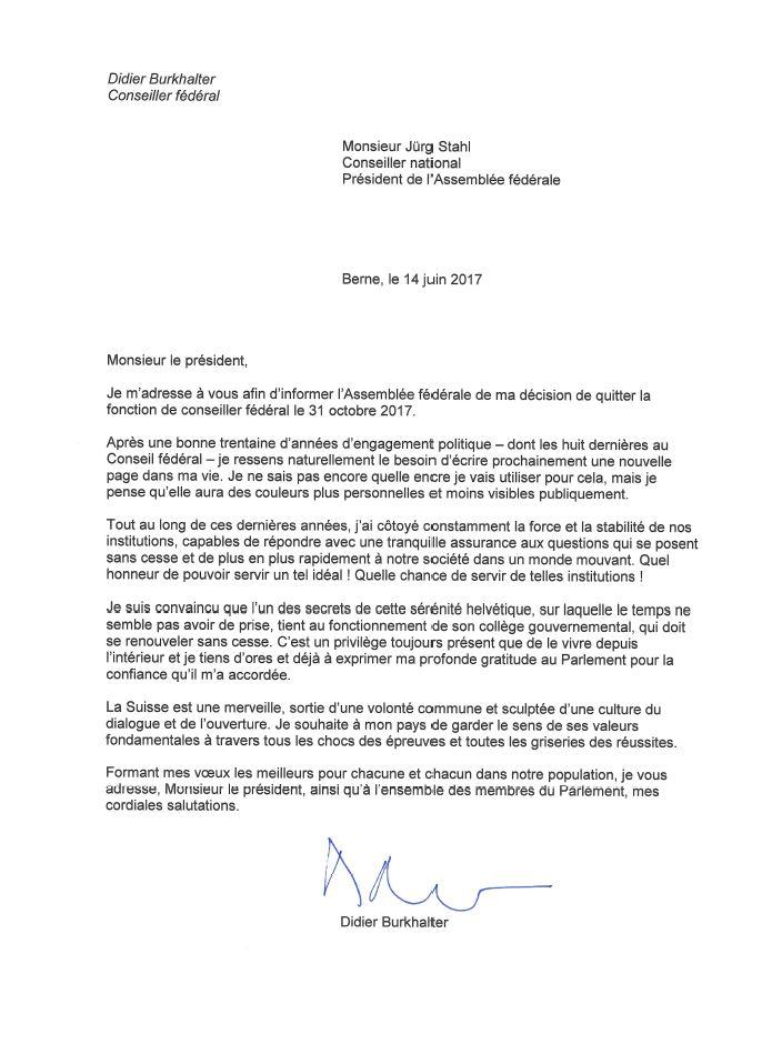 Didier Burkhalter J Avais Besoin De Retrouver Plus De Liberte
