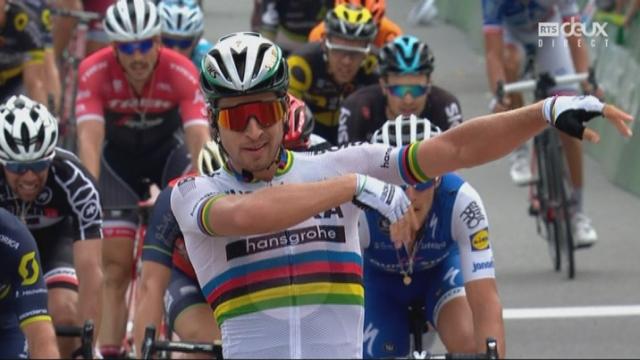 5e étape: Peter Sagan enlève le sprint devant Michael Albasini (SUI) et Matteo Trentin (ITA) [RTS]