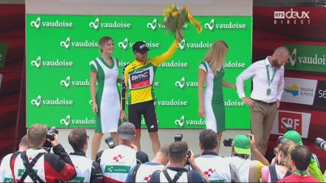 5e étape: Damiano Caruso (ITA) garde le maillot jaune [RTS]