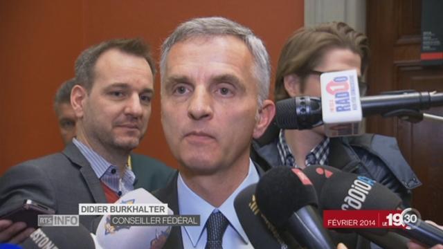 Le dossier européen, la bataille perdue de Didier Burkhalter [RTS]