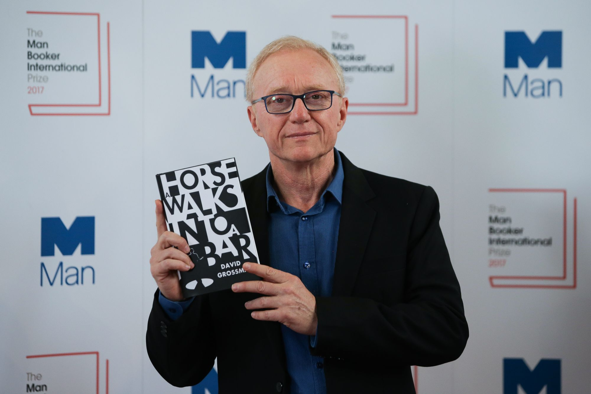 L'auteur israélien David Grossman, lauréat du prestigieux Man Booker International Prize.