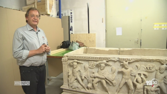 Archéologie: l'incroyable saga d'un sarcophage exceptionnel [RTS]
