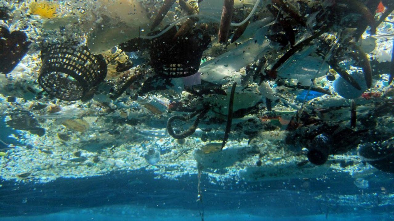 """""""Race for Water Odyssey"""" a pour objectif de faire le premier état des lieux de la pollution des mers aux déchets plastiques. [NOAA Pacific Islands Fisheries Science Center - AP/Keystone]"""