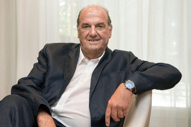 Le patron d'Athletissima Jacky Delapierre ce vendredi 16 juin 2017 à Lausanne. [Jean-Christophe Bott - Keystone]