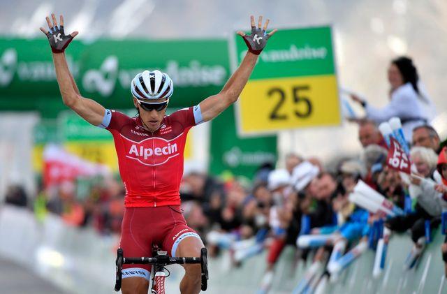 Simon Spilak a frappé un grand coup lors de la 7e étape. [Gian Ehrenzeller - Keystone]