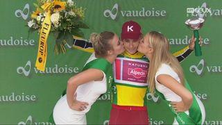 7e étapes: Simon Spilak (SLO) devient le maillot jaune du tour [RTS]