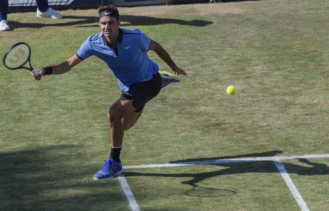 Cette fois, Federer réussit son entrée — Halle