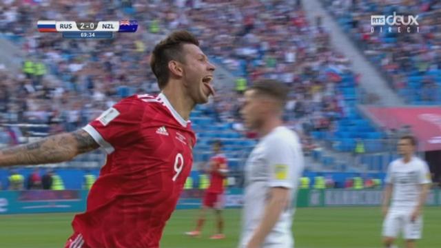 Groupe A, Russie – Nouvelle-Zélande 2-0, Smolov 69e [RTS]