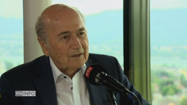 "Sepp Blatter: ""On triche dans le football"""