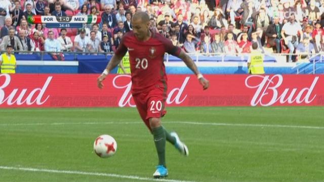 Coupe des Confédération, Portugal - Mexique 1-0, 34e Ricardo Quaresma [RTS]
