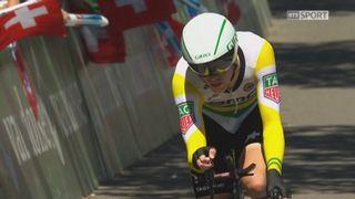 9e étape: l'Australien Rohan Dennis remporte cette étape devant Stefan Küng (SUI) et Damiano Caruso (ITA) [RTS]