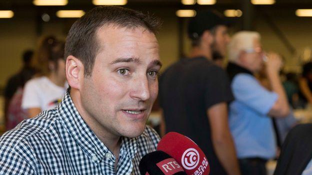 Moutier choisit le Jura: interview de Patrick Tobler, président de l'UDC du Jura bernois