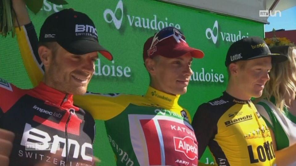 Tour de Suisse: Simon Spilak remporte la course [RTS]