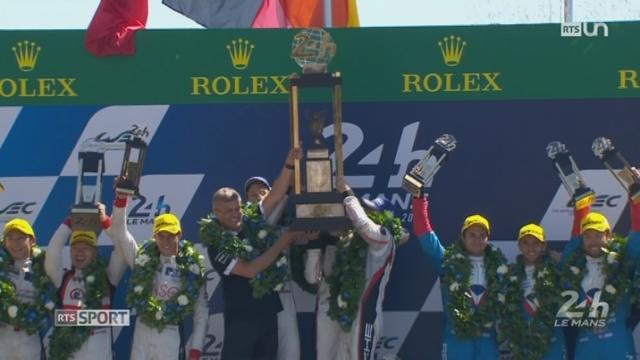 Auto - 24 Heures du Mans: la victoire revient à la Porsche de l'écurie allemande [RTS]