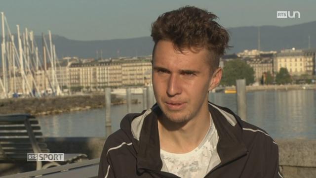 Athletisme: portrait du Genevois Julien Wanders [RTS]