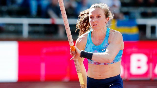 Nicole Büchler est entrée à Stockholm dans l'histoire de l'athlétisme suisse. [Andreas L Eriksson - EQ]