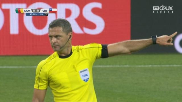 Coupe des Confédérations, Groupe B: Cameroun - Chili 0-0, 46e Eduardo Vargas but annulé [RTS]