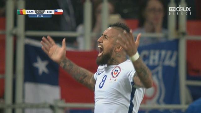 Coupe des Confédérations, Groupe B: Cameroun - Chili 0-1, 81e Arturo Vidal [RTS]