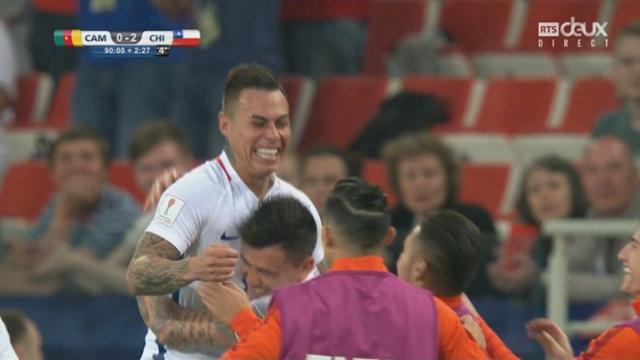 Coupe des Confédérations, Groupe B: Cameroun - Chili 0-1, 91e Eduardo Vargas [RTS]