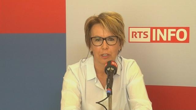 L'invité de la rédaction - Nathalie Barthoulot [RTS]