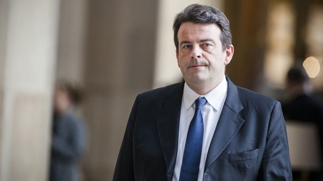 Le député français Thierry Solère. [Aurélien Morissard - AFP]