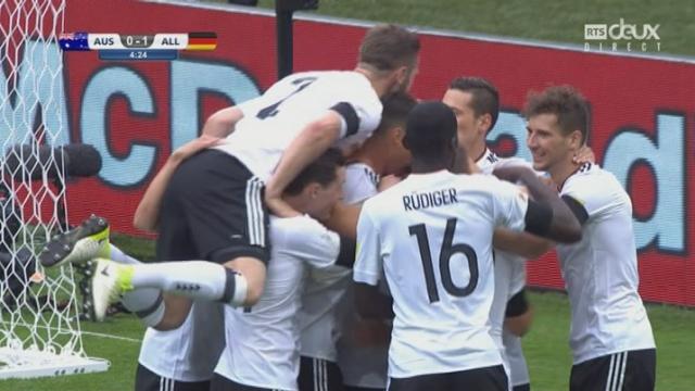Coupe des Confédérations, Groupe B: Australie – Allemagne 0-1, 5e Stindl [RTS]